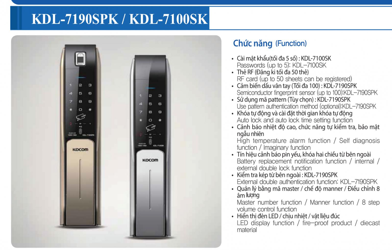 KDL-7190SPK